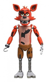 Фокси (14 см) - Funko Five Nights at Freddy's Articulated Foxy Action Figure, 5""